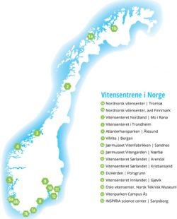kart vitensenterne